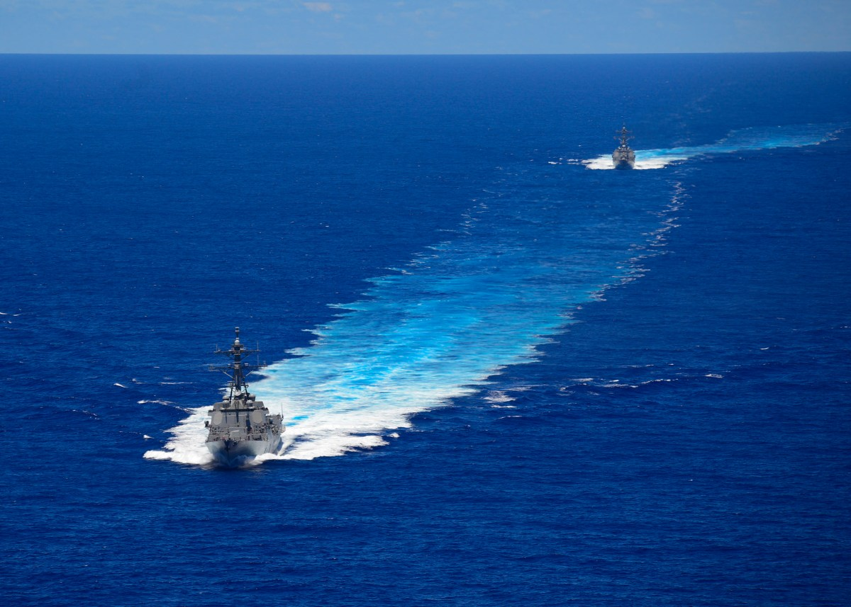 From Chinese missiles to US warships, the South China Sea is heating up