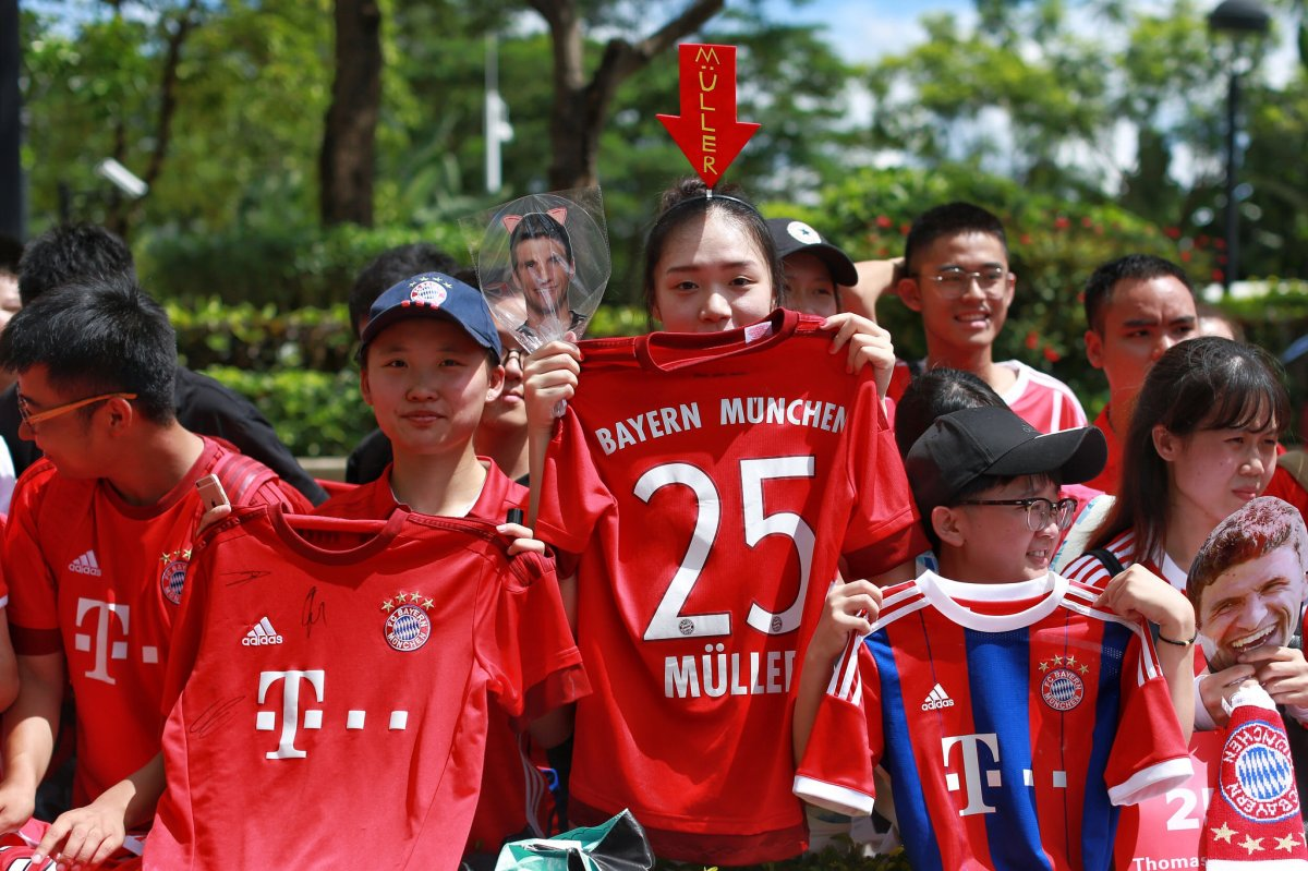 Bayern Munich's strategy to enter the Chinese market