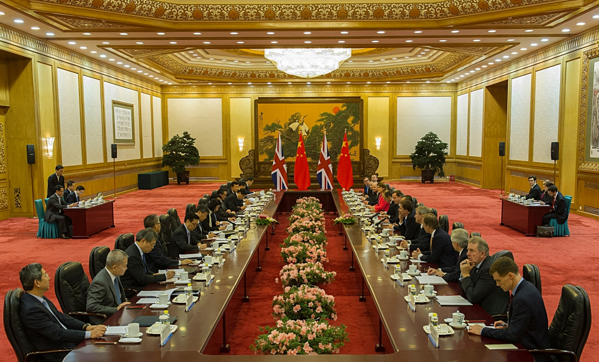 U.K.-China Relations in 2018: A Storm on the Horizon