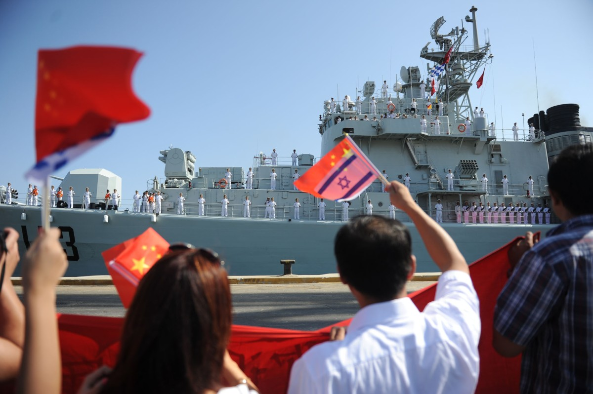 China is making inroads into the Middle East, starting with Israel