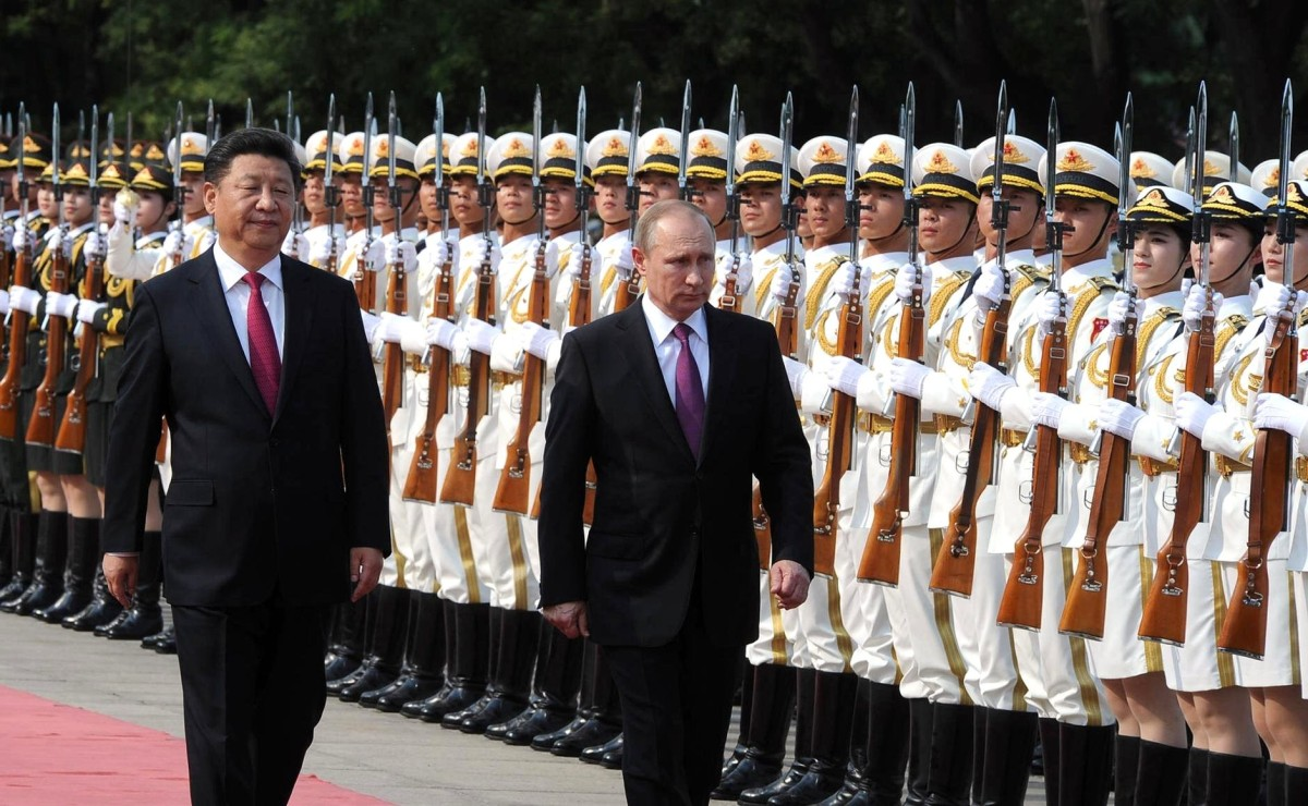 The China-Russia security relationship