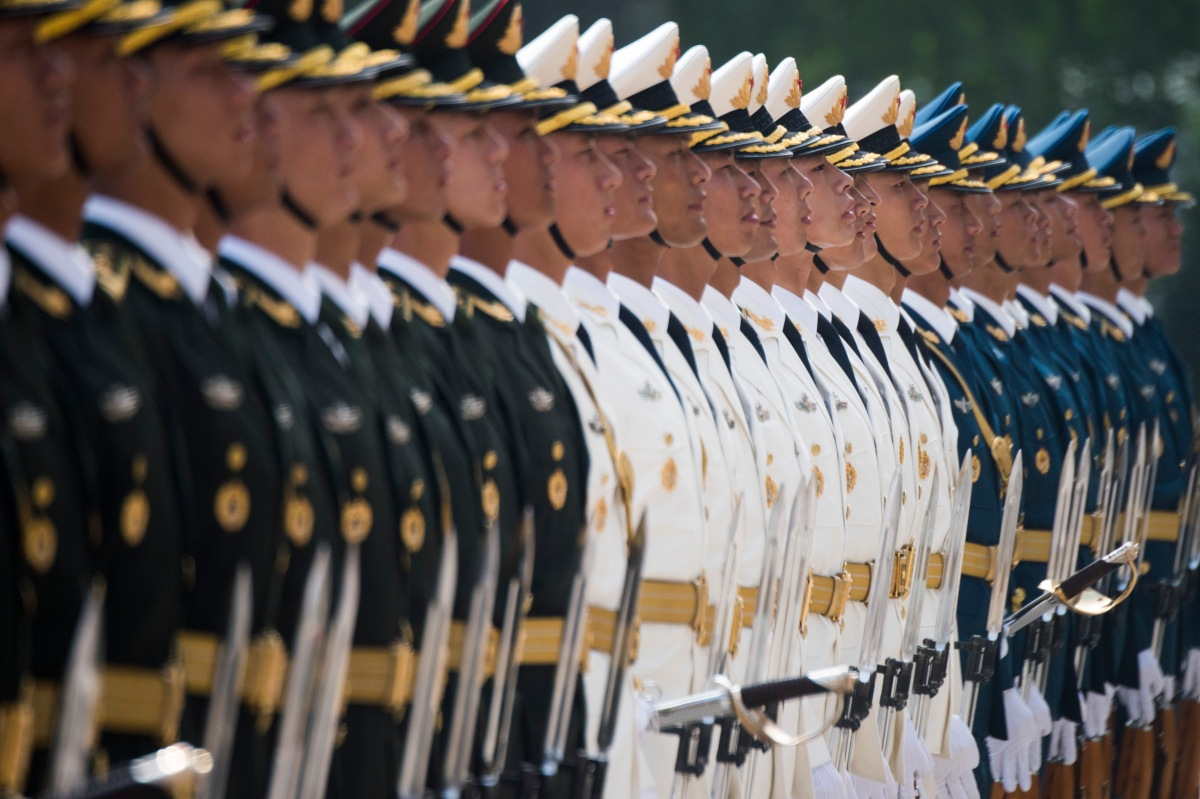China's military is poised to become a world class force