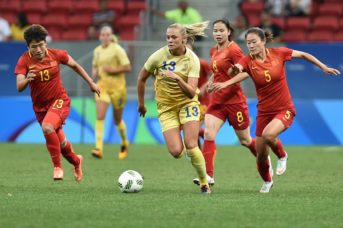 Women's football in China: Bend it like Sun Wen?